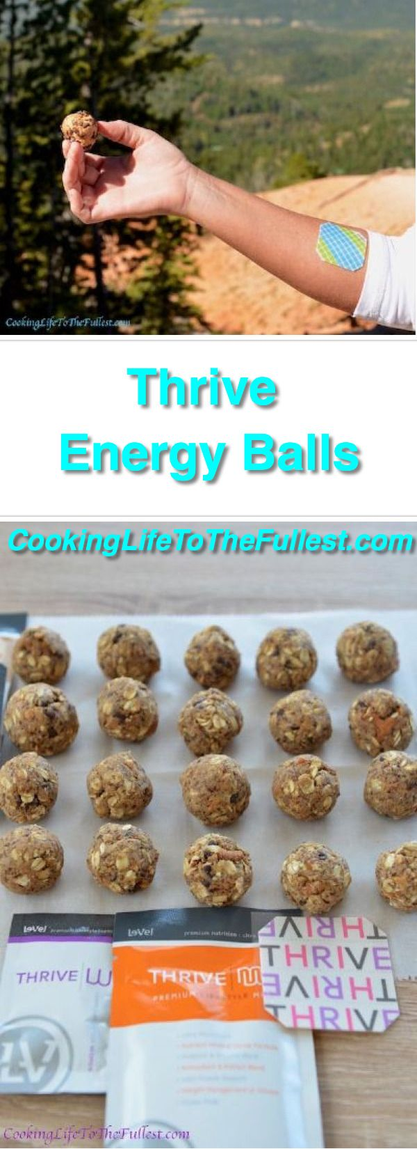 Thrive Energy Balls. The THRIVE Experience is an 8-week premium lifestyle plan…