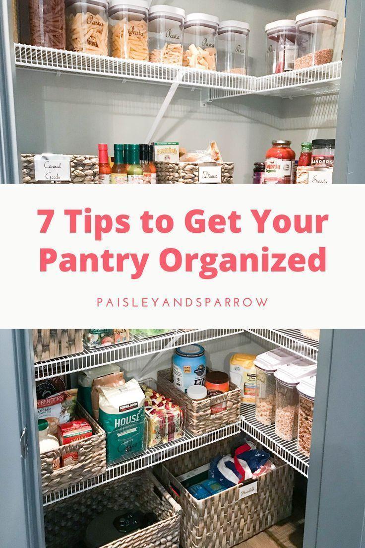 7 Kitchen Pantry Organization Ideas Style Dwell Paisley