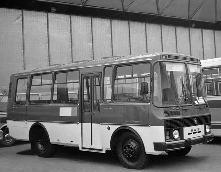 ПАЗ 3205 Предсерийный '1979–84