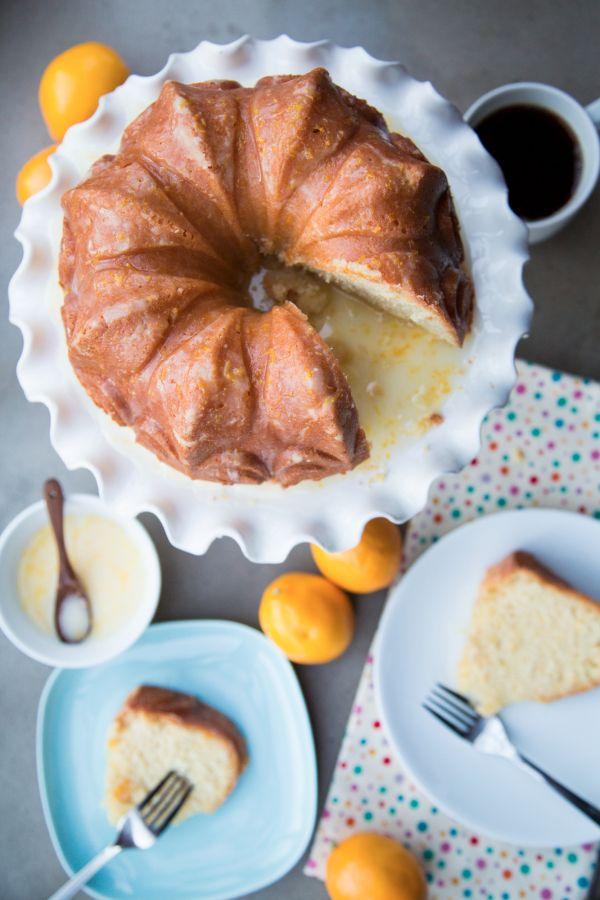 Lemon Buttermilk Bundt Cake / remplacer le buttermilk par du lait fermenté