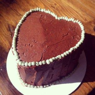 "chocolate heart ""Lover's Cake"""