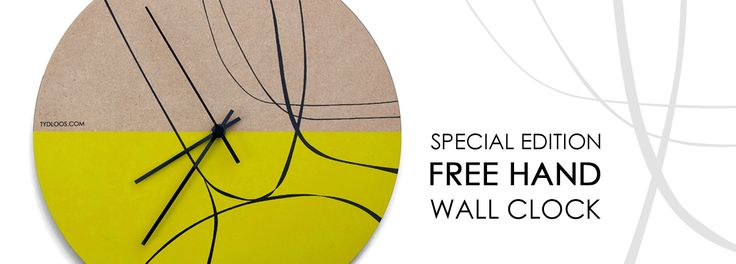 Free Hand Wall clock