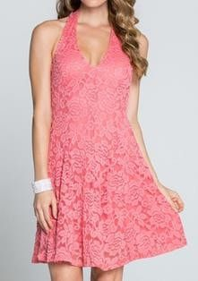 17 best ideas about Coral Lace Dresses on Pinterest | Wedding ...