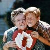 Still of Ron Howard and Frances Bavier in The Andy Griffith Show