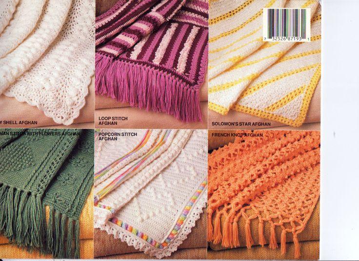 Mejores 67 imágenes de Afghan patterns to Knit & Crochet en ...