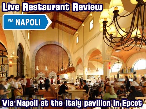 Live Review of Via Napoli in Epcot, Disney Trivia Contest and more! – Apr. 14, 2013