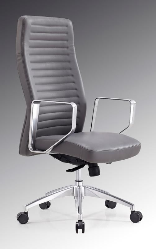 Modrest Barra Modern Grey High Back Office Chair. The Modrest Barra Modern  Grey High Back Office Chair Is Designed Impeccably To Provide Ergonomics ...