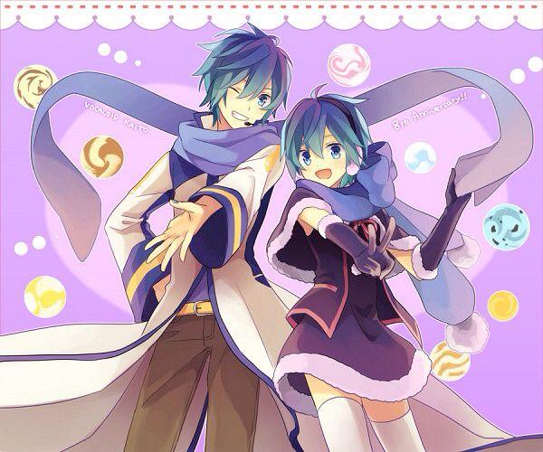 Vocaloids - Kaito & Kaiko Shion | [Vocaloid / Utauloid ...