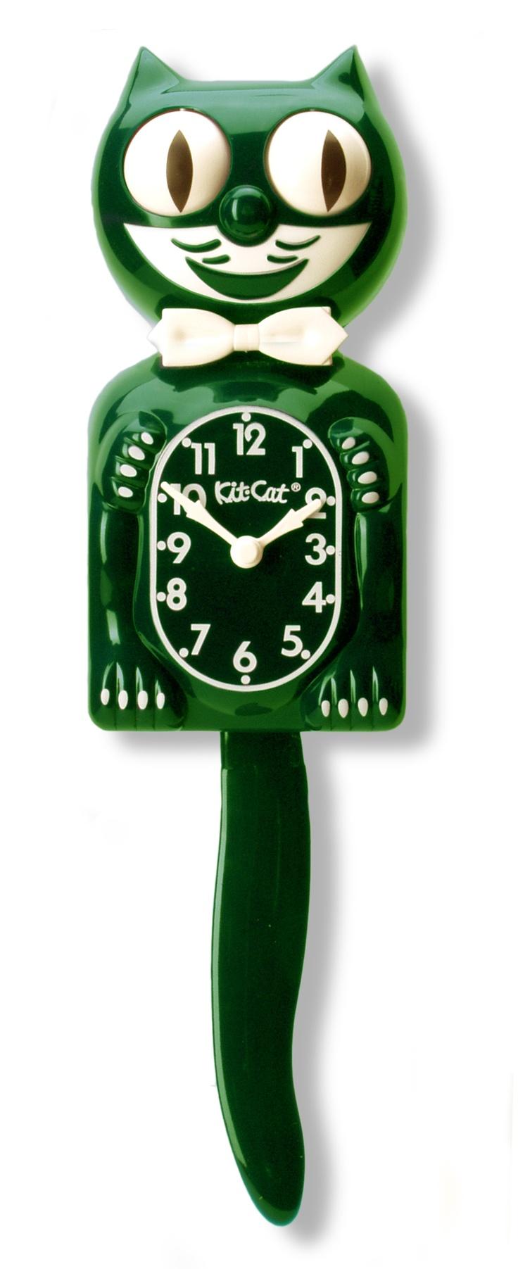 17 best ideas about cat clock on pinterest kit kat clock kitsch and vintage stuff. Black Bedroom Furniture Sets. Home Design Ideas