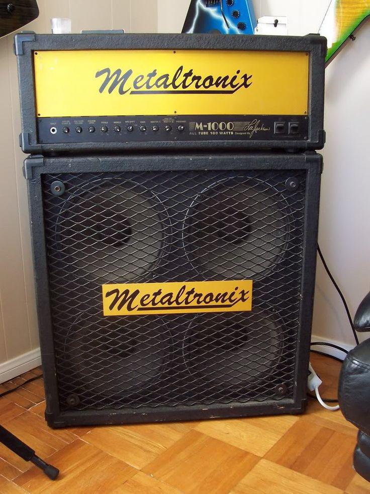 Lee Jackson Metaltronix M 1000 Amplification And Six