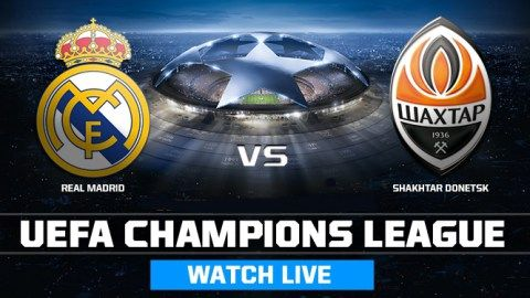 watch real madrid vs shakhtar live stream champions league live stream online free uefa