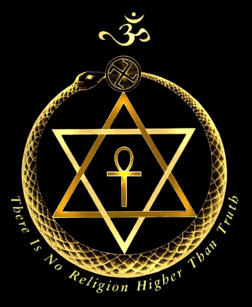 The emblem of the Theosophical Society
