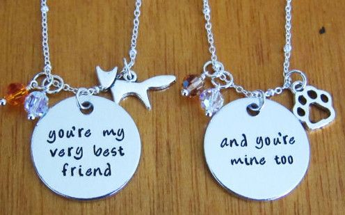 There's no better way to flaunt your bond with your bestie than with these Fox and the Hound friendship necklaces. | 33 Beautiful Pieces Of Disney Jewelry You'll Fall In Love With
