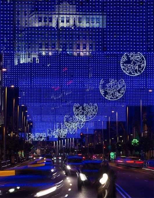 13 best light installation, Madrid 2014 images on ...