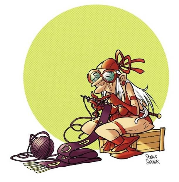 Old Elektra By: Donald Soffritti.#Marvel. Agents of SHIELD - Comics - Pop - Discovery - History - MarvelComics - Spiderman - xmen - Daredevil - IronMan - Hulk - Thor - Jessica Jones - Marvel Studios - Netflix - UCM - The Defenders - Disney - Agent Carter - Legion- deadpool- Doctor Strange - Marvel.