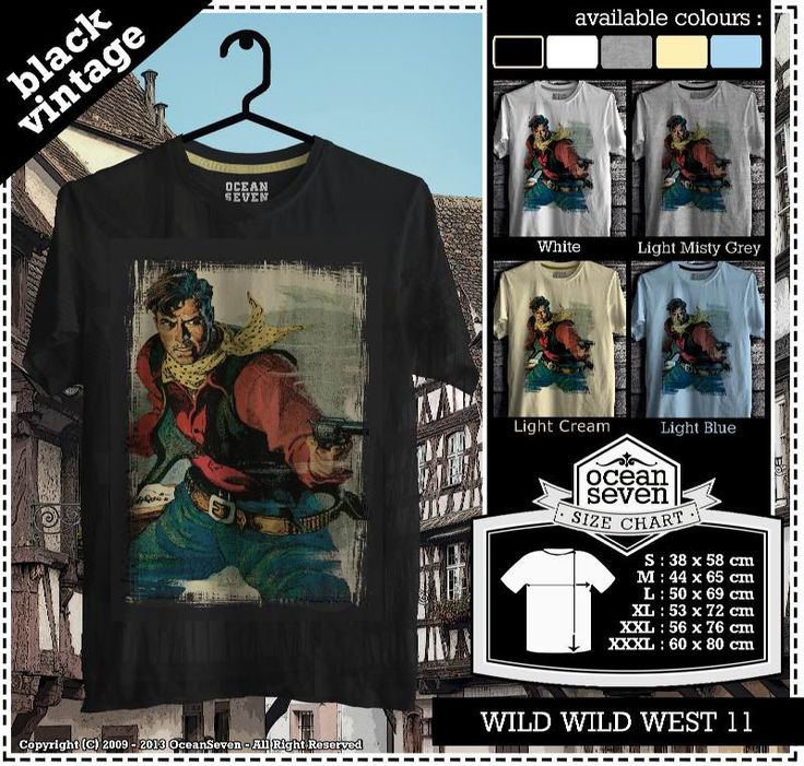 ourkios  - Cowboy | western | The wild Wild west T- Shirt  - kaos  Cowboy | western | The wild Wild west