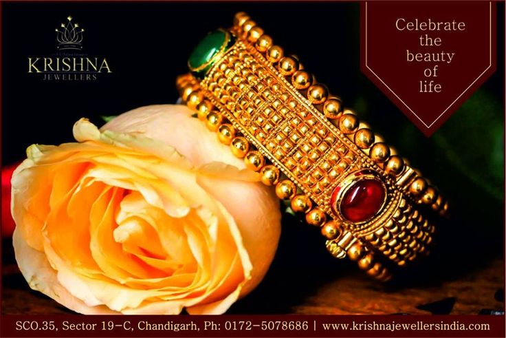 Celebrate The Beauty Of Life!!  Get Up To 10% OFF on Making Charges!!  Visit Our Store Today to view our #Handcrafted #Unique #Designs of Jewellery (SCO 35, Sector 19 C, #Chandigarh)  #KrishnaJewellersIndia #KrishnaJewellersChandigarh #Awesome #Krishna_Jewellers_India #ChandigarhJewellers