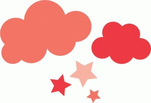 Silhouette Design Store - View Design #41210: echo park clouds & stars