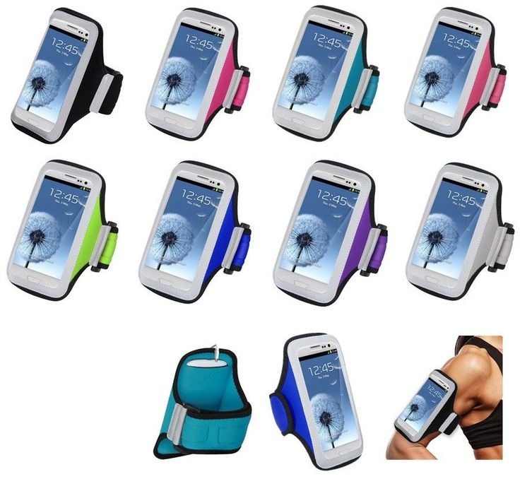 Exercise Running Gym Sport Neoprene Armband Case Cover For Samsung Galaxy S 5