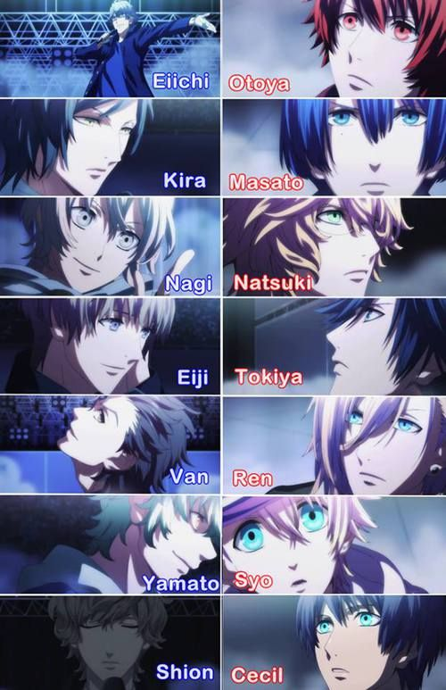 I love how each person in heavens has a personality related to the members in starish