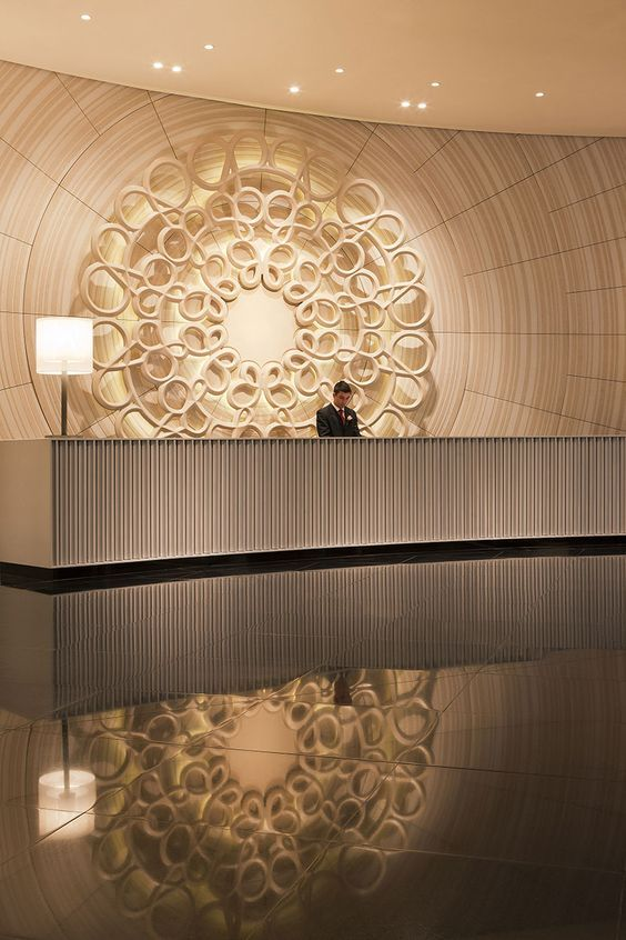 Crown Towers Hotel Lobby / Bates Smart: