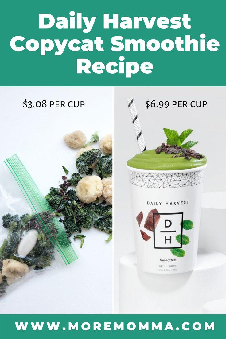 Möchten Sie wissen, wie Sie Ihre eigenen Daily Harvest Smoothie-Rezepte zubereiten können? Diese Daily Ha …   – Lunches