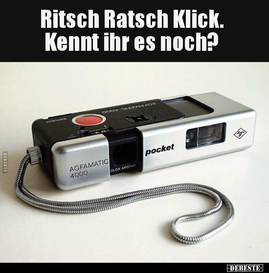 Ritsch Ratsch Klick. Kennt ihr es noch?.. | Lustig…