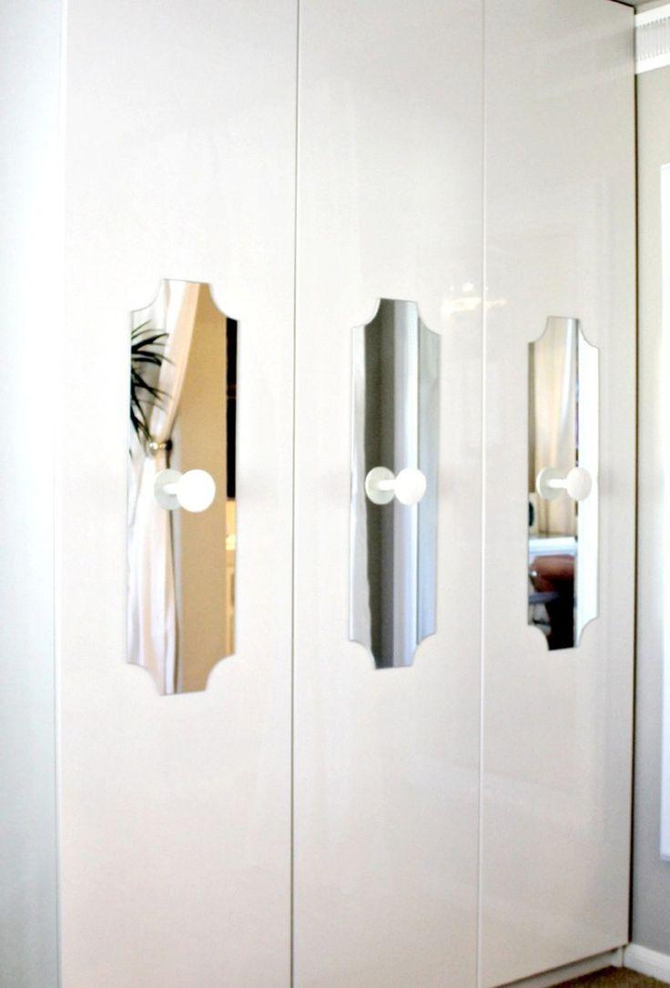 IKEA PAX with custom mirror doors