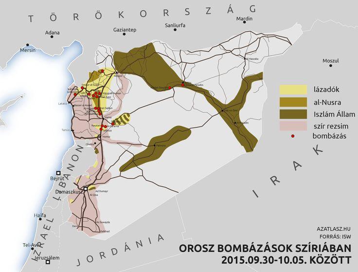 Ororsz bombázás Szíriában 2015 október