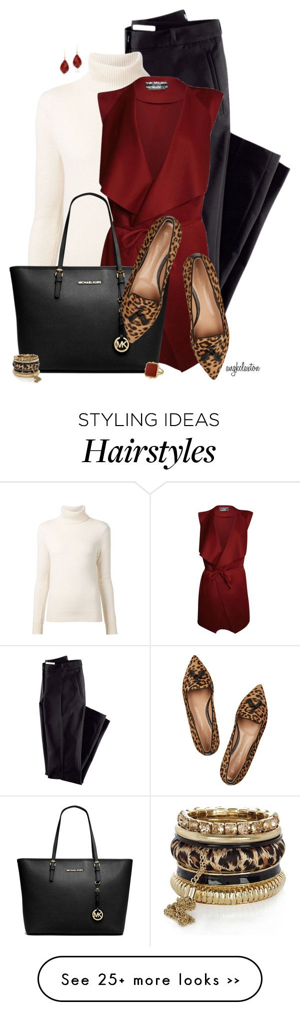 """""""Tassel Loafers"""" by angkclaxton on Polyvore featuring H&M, Chloé, Michael Kors, Gianvito Rossi and River Island"""