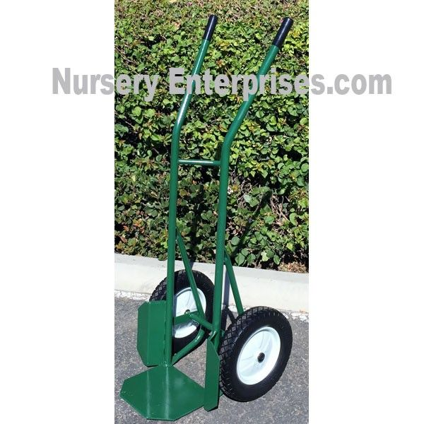 Large Potted Plant Hand Truck | Nursery Hand Truck Dolly | Use this garden tool to transport your garden pots and plants.