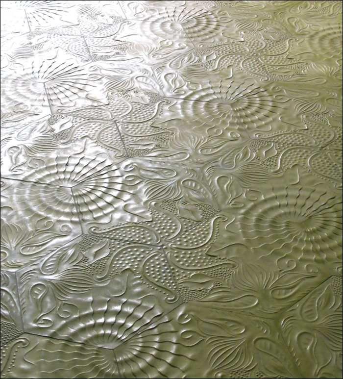 WC 2. OG // Via Zement Mosaik Fliese www.via-finest-tiles.de gaudi