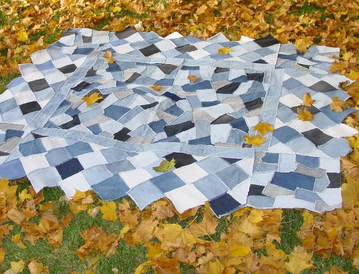 crazy quilts for beginners | Crazy Denim Quilt ... by QuiltedSunshine | Quilting Pattern