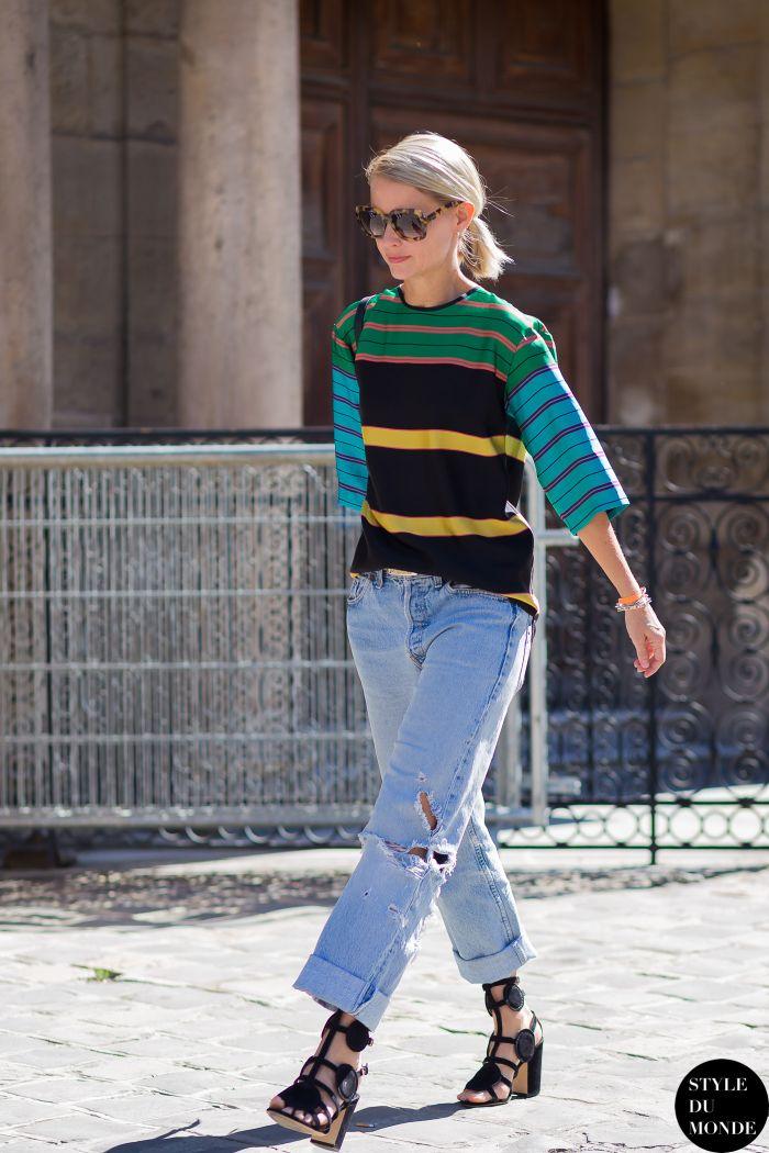 Before Lanvin Street Style Street Fashion Streetsnaps by STYLEDUMONDE Street…