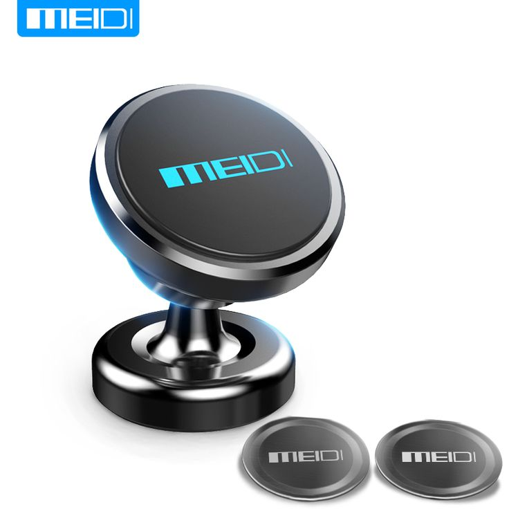 Universal Car Bracket. MEIDI Magnetic Car Phone Holder 360 Rotation GPS Mobile Phone Metal mount Car Holder Stand for iPhone 6  plus Samsung S6 xiaomi. #Universal Car Bracket