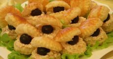 Закуска «Черный жемчуг» | Готовим вкусно!