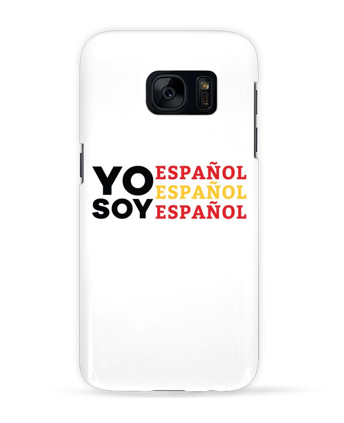 Carcasa Samsung Galaxy S7 Yo soy español español español