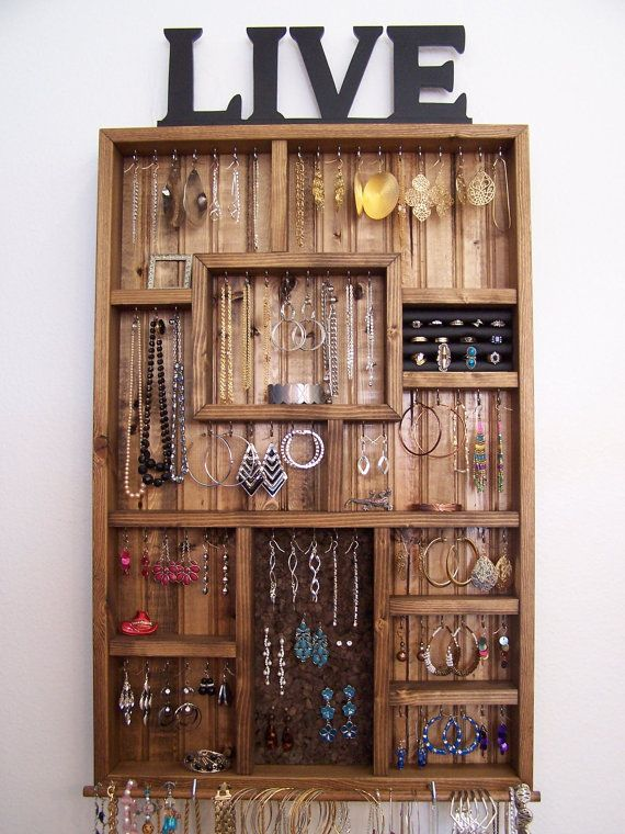 51 best Jewelry Organizers images on Pinterest Organisations