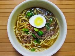 Yakamein (Ya-Ka-Mein, often pronounced Yakamee) is a type of beef noodle soup commonly found in many Creole and Chinese restaurants in New Orleans.