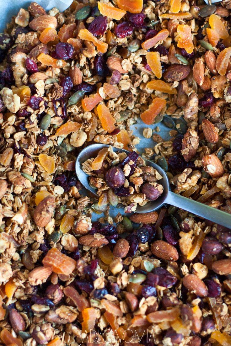 jadłonomia · roślinne przepisy: Domowa granola