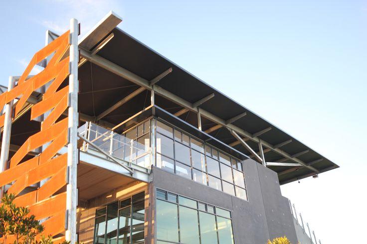 Quad Park Stadium Ritek Roof System.