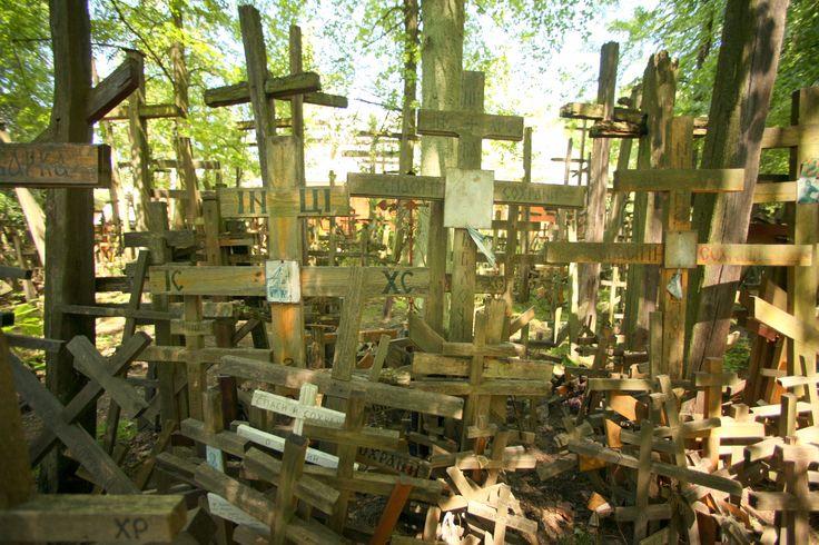 Krzyże na Świętej Górze | Crosses on Holy Mountain #holymountain #grabarka #crosses #east #easternorthodoxy #holyplace #polska #poland #travel #seeuinpoland