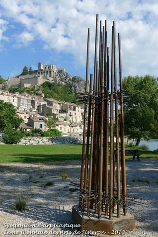 Symposium d'art plastique de Sisteron 2013 - Alfredo Lombardo - Variation dans l'espace