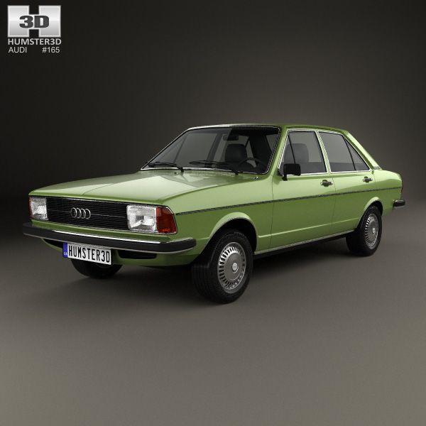 Audi 80 (B1) 1976 3d Model From Hum3d.com.