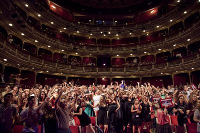 """El grupo Alonso de Madrigal de Ávila, ganador en Castilla y León del """"Buero"""" de teatro joven http://www.revcyl.com/www/index.php/educacion/item/7619-el-grupo-alonso-de-madrigal-de-%C3%A1vila-ganador-en-castilla-y-le%C3%B3n-del-buero-de-teatro-joven"""