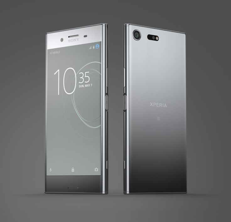 Sony releases the first smartphone with a 4K HDR display.