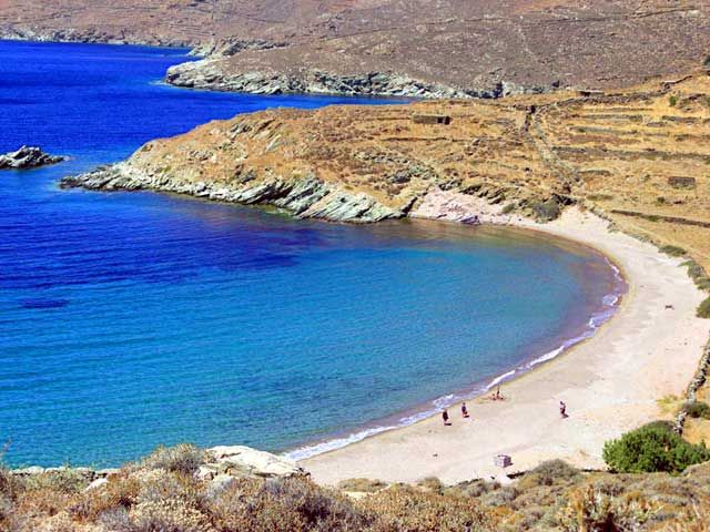 Lychnaftia beach, Tinos