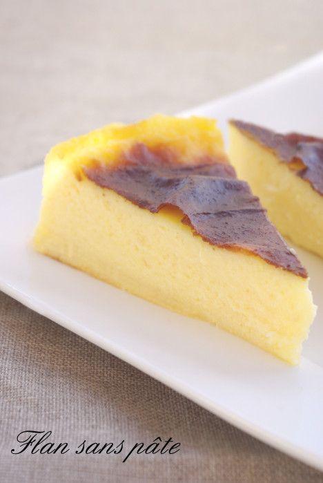 S'il y a bien un gâteau qui me rapelle mon enfance après les gâteaux aux yaourts ce sont les flans. Et encore aujourd'hui je ne me lasse pas d'en manger.