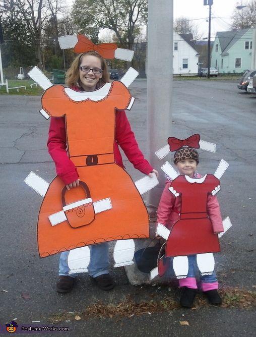 Paper Dolls - Halloween Costume Contest via @costume_works