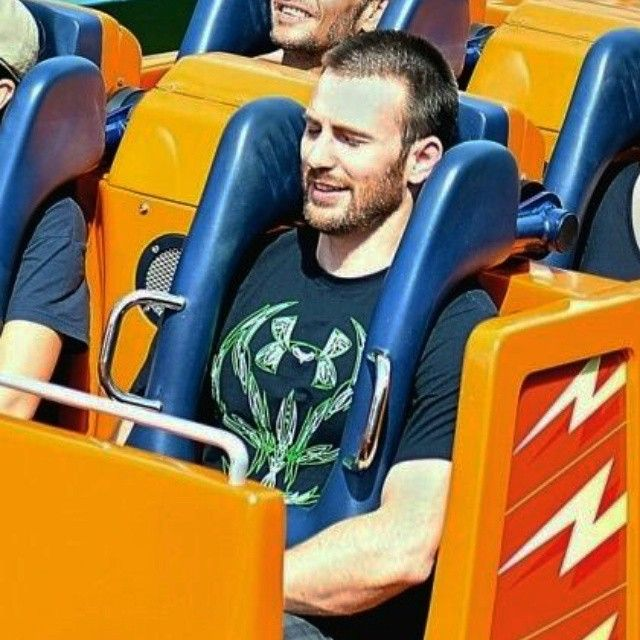 I would get on any rollercoaster with him next to me!